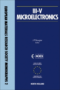 III-V Microelectronics - 1st Edition - ISBN: 9780444889904, 9781483295237