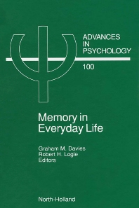 Cover image for Memory in Everyday Life