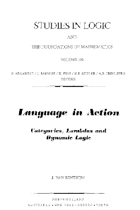 Language in Action, 1st Edition,J. van Benthem,ISBN9780444890009