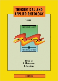 Theoretical and Applied Rheology - 1st Edition - ISBN: 9780444890078, 9781483294162