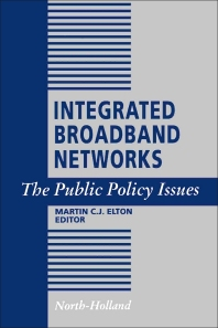 Cover image for Integrated Broadband Networks