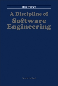 Cover image for A Discipline of Software Engineering