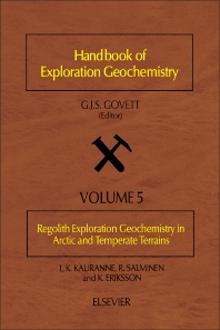 Cover image for Regolith Exploration Geochemistry in Arctic and Temperate Terrains