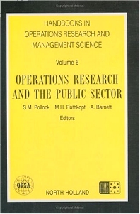 Operations Research and the Public Sector, 1st Edition,S.M. Pollock,ISBN9780444892041