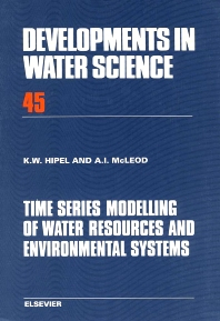 Time Series Modelling of Water Resources and Environmental Systems - 1st Edition - ISBN: 9780444892706, 9780080870366