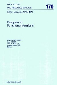 Progress in Functional Analysis