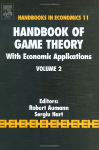 Handbook of Game Theory with Economic Applications, 1st Edition,R.J. Aumann,S. Hart,ISBN9780444894274