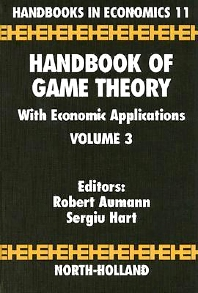 Cover image for Handbook of Game Theory with Economic Applications