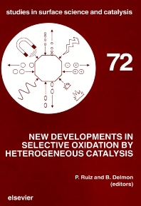 Cover image for New Developments in Selective Oxidation by Heterogeneous Catalysis