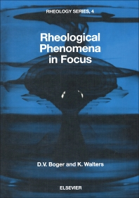 Rheological Phenomena in Focus - 1st Edition - ISBN: 9780444894731, 9780444600684