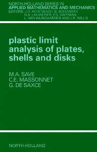 Cover image for Plastic Limit Analysis of Plates, Shells and Disks