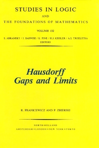 Hausdorff Gaps and Limits - 1st Edition - ISBN: 9780444894908, 9780080887081