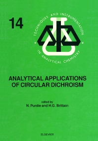 Cover image for Analytical Applications of Circular Dichroism
