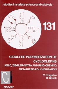 Catalytic Polymerization of Cycloolefins - 1st Edition - ISBN: 9780444895196, 9780080528625