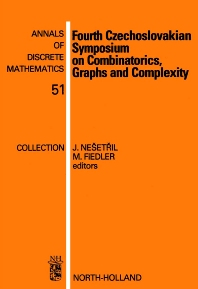 Fourth Czechoslovakian Symposium on Combinatorics, Graphs and Complexity - 1st Edition - ISBN: 9780444895431, 9780080867915