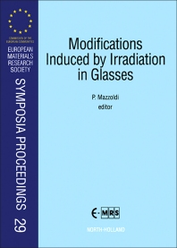 Cover image for Modifications Induced by Irradiation in Glasses