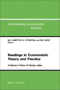 Cover image for Readings in Econometric Theory and Practice