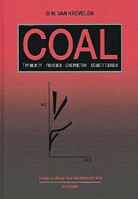 Coal, 3rd Edition,D.W. van Krevelen,ISBN9780444895868