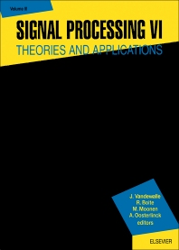 Cover image for Signal Processing VI