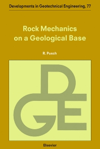 Rock Mechanics on a Geological Base - 1st Edition - ISBN: 9780444896131, 9780080540665