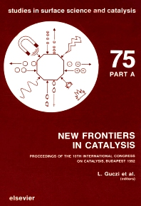 Cover image for New Frontiers in Catalysis, Parts A-C