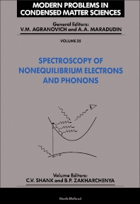 Spectroscopy of Nonequilibrium Electrons and Phonons - 1st Edition - ISBN: 9780444896377, 9780444600578