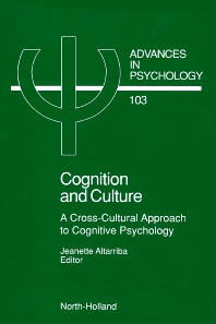 Cognition and Culture, 1st Edition,J. Altarriba,ISBN9780444896391