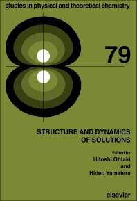 Structure and Dynamics of Solutions - 1st Edition - ISBN: 9780444896513, 9781483291420