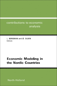 Cover image for Economic Modeling in the Nordic Countries