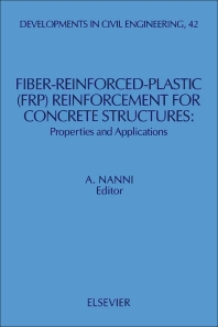 Cover image for Fiber-Reinforced-Plastic (FRP) Reinforcement for Concrete Structures