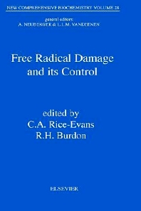 Cover image for Free Radical Damage and its Control