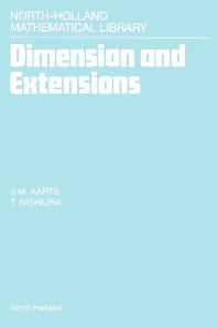 Dimension and Extensions - 1st Edition - ISBN: 9780444897404, 9780080887616