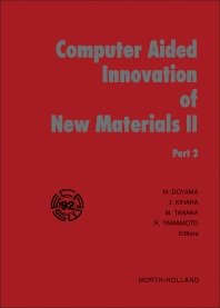 Cover image for Computer Aided Innovation of New Materials II