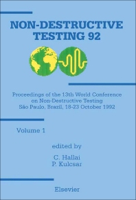 Cover image for Non-Destructive Testing '92