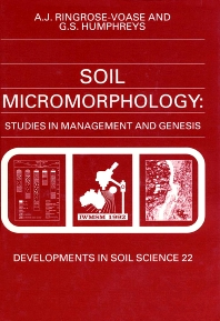 Cover image for Soil Micromorphology: Studies in Management and Genesis