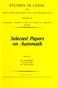 Selected Papers on Automath - 1st Edition - ISBN: 9780444898227, 9780080887180