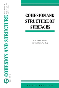 Cohesion and Structure of Surfaces - 1st Edition - ISBN: 9780444898296, 9780080529325