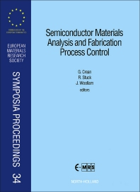 Semiconductor Materials Analysis and Fabrication Process Control - 1st Edition - ISBN: 9780444899088, 9780444596918