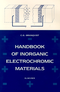 Cover image for Handbook of Inorganic Electrochromic Materials
