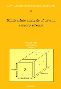 Cover image for Multivariate Analysis of Data in Sensory Science