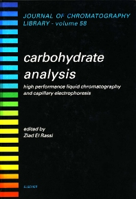 Carbohydrate Analysis - 1st Edition - ISBN: 9780444899811, 9780080858661