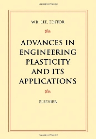 Cover image for Advances in Engineering Plasticity and its Applications
