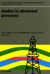 Studies in Abnormal Pressures - 1st Edition - ISBN: 9780444899996, 9780080868967