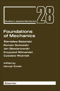 Cover image for Foundations of Mechanics