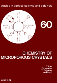 Cover image for Chemistry of Microporous Crystals
