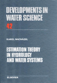 Cover image for Estimation Theory in Hydrology and Water Systems