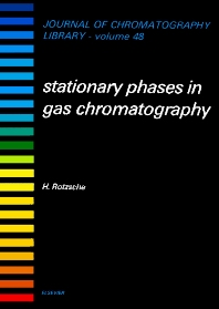 Stationary Phases in Gas Chromatography, 1st Edition,H. Rotzsche,ISBN9780444987334