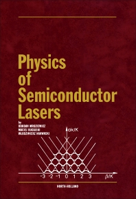 Physics of Semiconductor Lasers - 1st Edition - ISBN: 9780444987372, 9781483291659