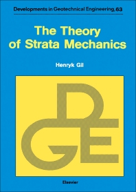 The Theory of Strata Mechanics - 1st Edition - ISBN: 9780444987617, 9780444598110