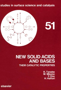 New Solid Acids and Bases - 1st Edition - ISBN: 9780444988003, 9780080887555